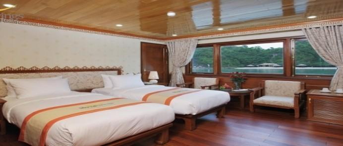 Du thuyền Hạ Long Royal Wing Cruise 2 ngày 1 đêm