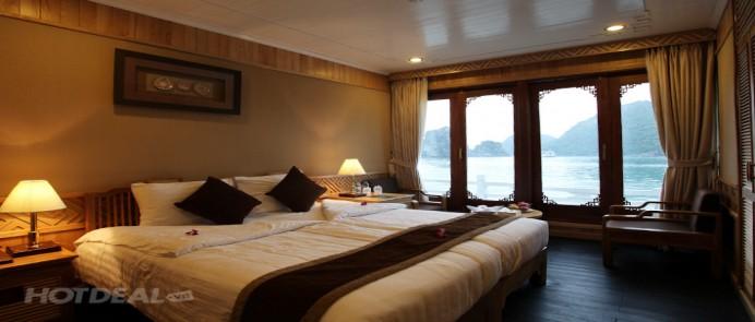 Tour du thuyền Pelican Cruise 2 ngày 1 đêm