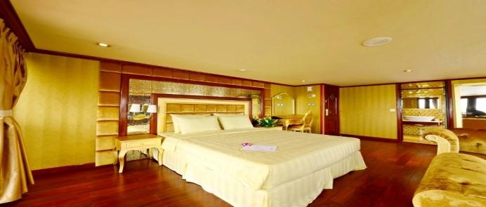 Voucher du thuyền Golden Hạ Long 2 ngày 1 đêm